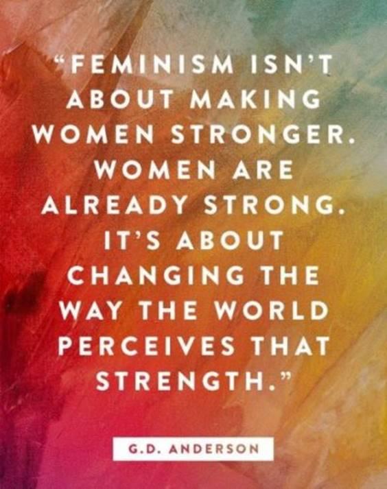 Inspiring Quotes On Feminism