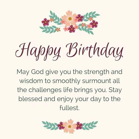 blessed birthday friend