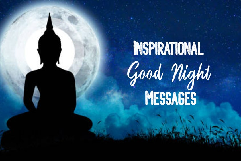 cute inspirational good night messages and quotes