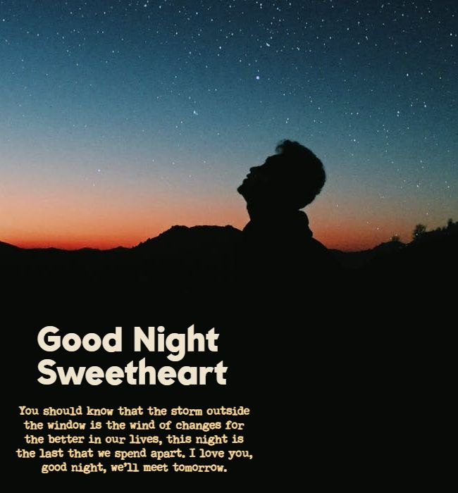 funny flirty goodnight text for him