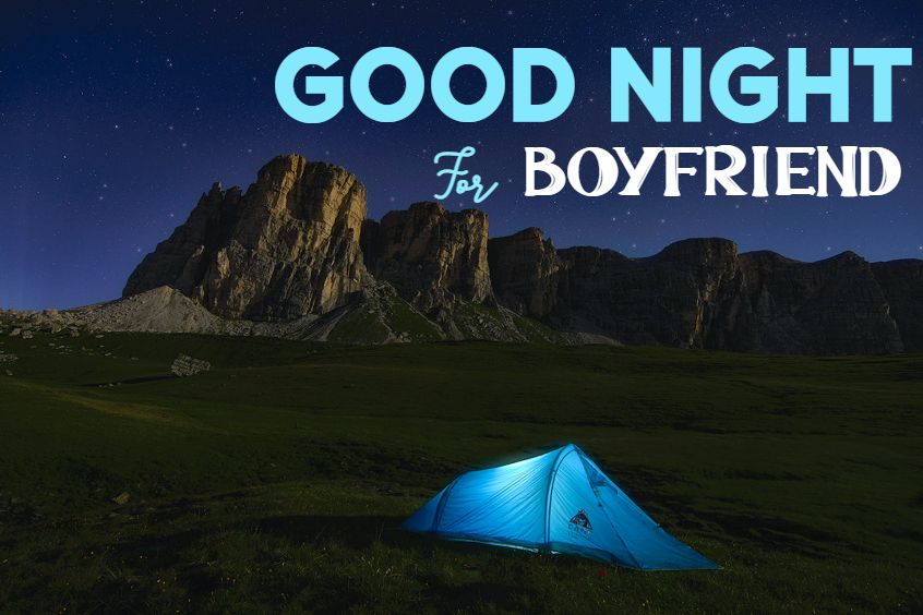 good night for boyfriend quotes and images