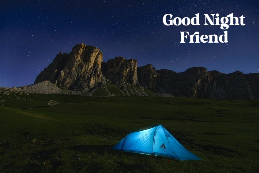 Good Night Quotes for Friends Images for Goodnight