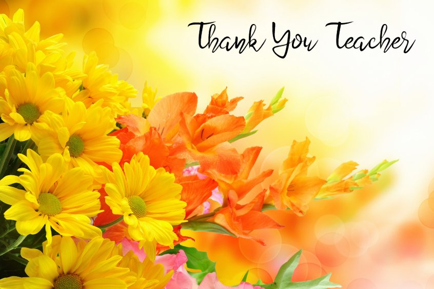 Thank You Teacher Messages Best Quotes About Teaching Thank You Note What To Say Teacher