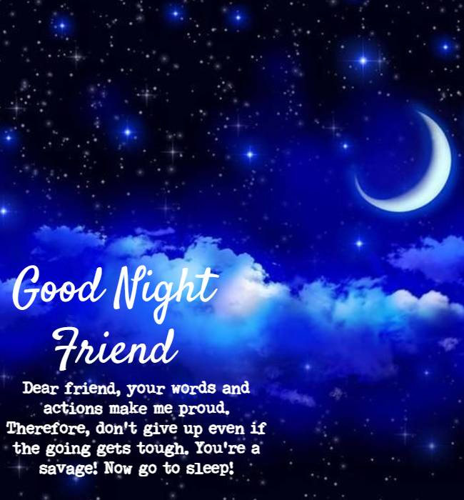 good night quotes for friends and family