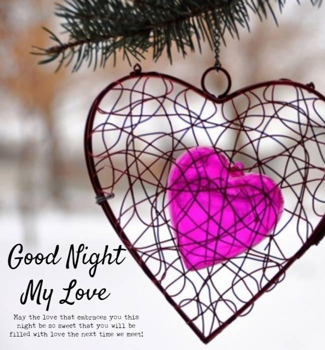 i love you baby good night