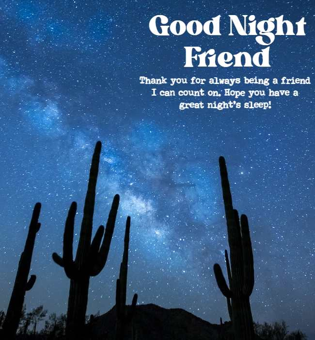 inspirational good night wishes for friend