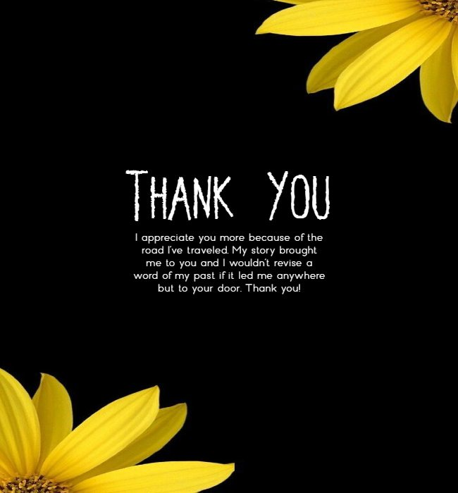 thank you messages