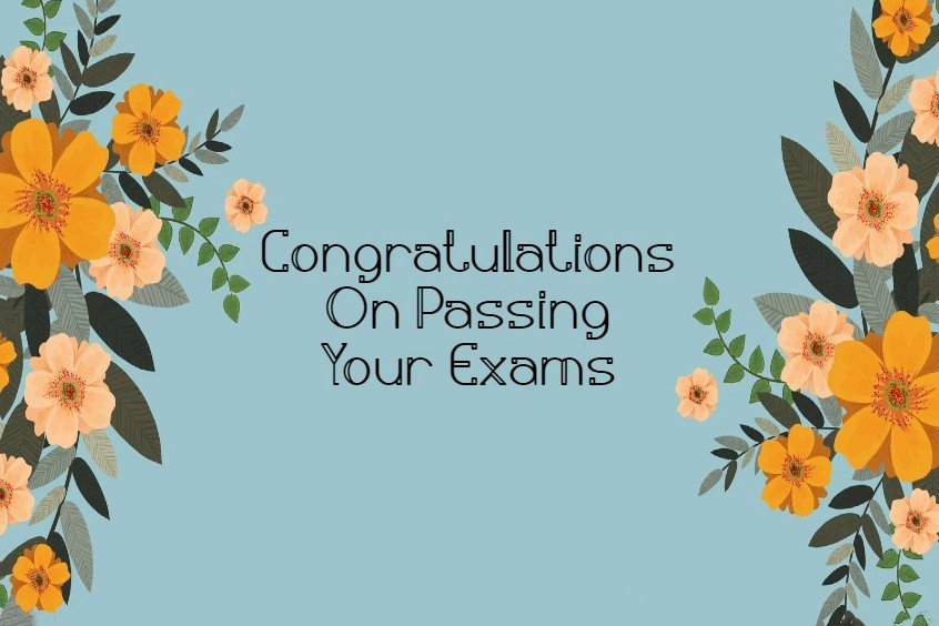 Congratulations Messages for Passing Exam and Good Results And Wishes Appreciation Quotes