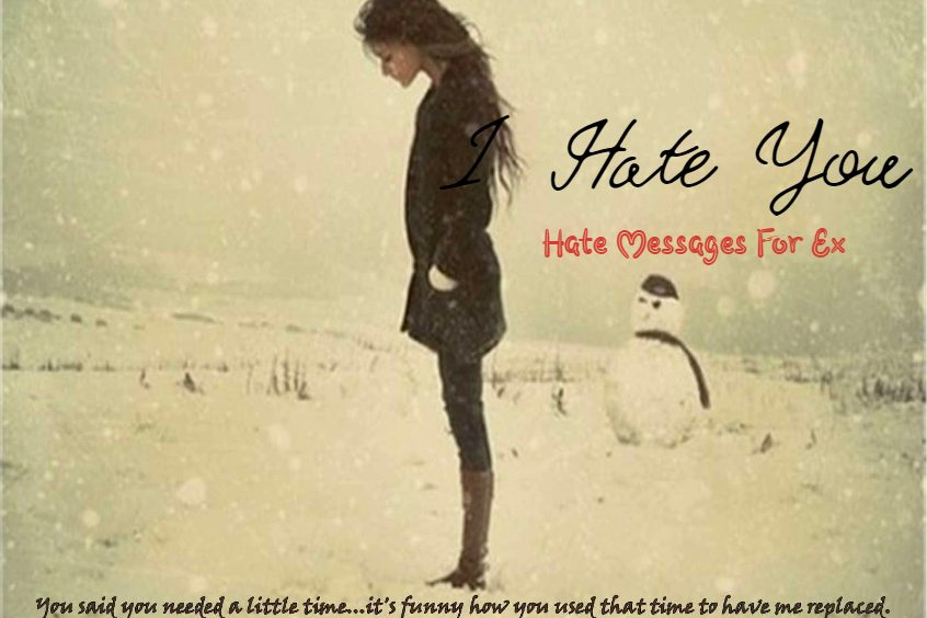 I Hate You Messages Painful Goodbye Message For Ex